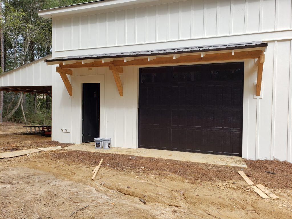 Custom Garage Door Outside