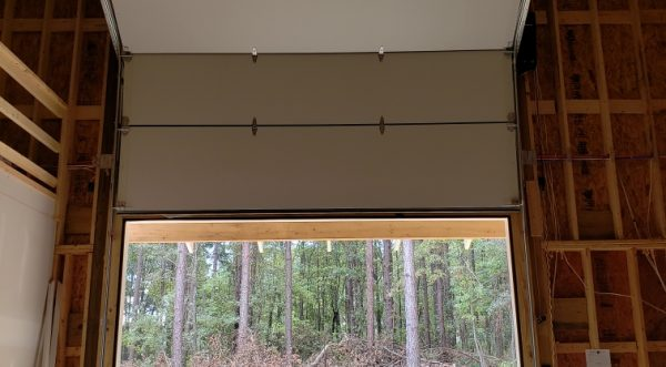 Custom Garage Door Inside
