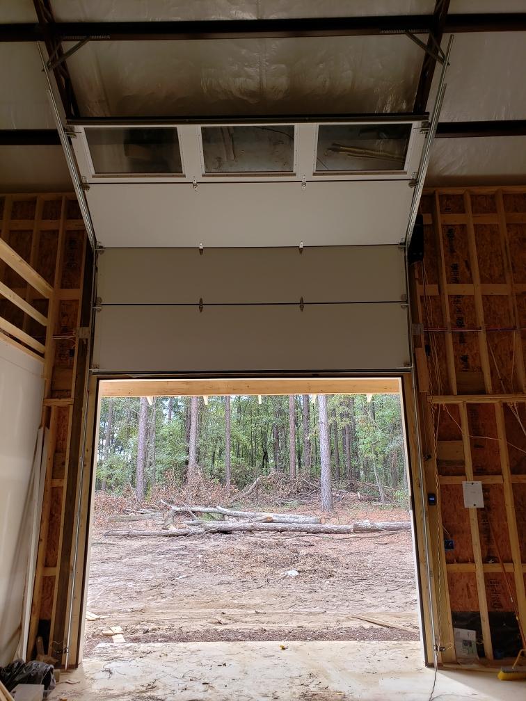Custom Garage Door Inside