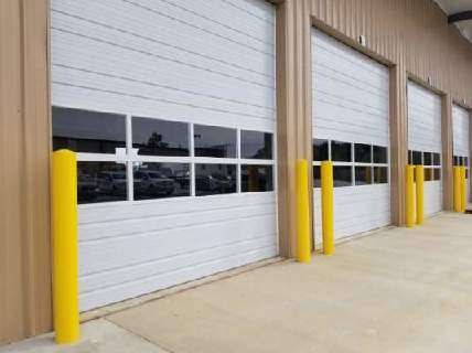 Commercial Overhead Doors with Glass